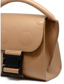 Zucca polka dot mini bag in beige eco leather price