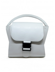 Bags online: Zucca white bag with polka dots in eco-leather