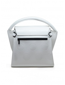 Zucca white bag with polka dots in eco-leather price
