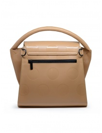Zucca beige bag with polka dots in eco leather price