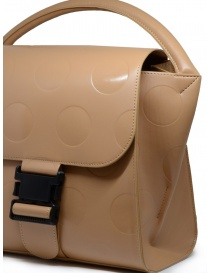 Zucca beige bag with polka dots in eco leather bags buy online