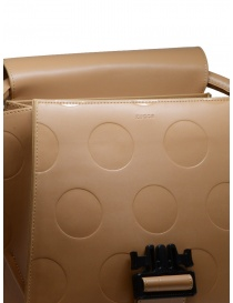 Zucca beige bag with polka dots in eco leather bags price