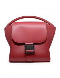 Zucca bag in matte red eco-leather online