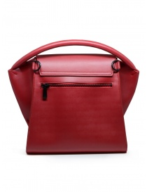 Zucca bag in matte red eco-leather
