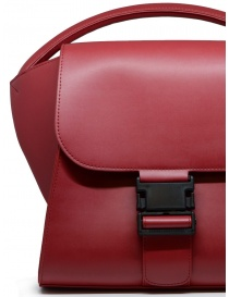 Zucca bag in matte red eco-leather bags buy online