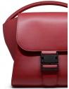 Zucca borsa in ecopelle rossa opaca ZU09AG131-21 RED acquista online