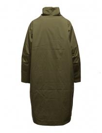 Plantation + Descente cappotto imbottito verde khaki