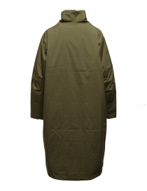 Plantation + Descente khaki green padded coat