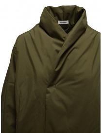 Plantation + Descente cappotto imbottito verde khaki prezzo