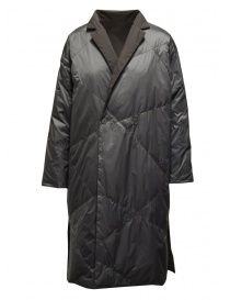 Plantation grey reversible padded coat
