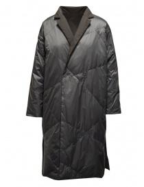 Plantation grey reversible padded coat