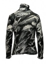 Plantation black and white printed cotton turtleneck sweatshirt shop online womens knitwear