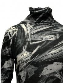 Plantation black and white printed cotton turtleneck sweatshirt price