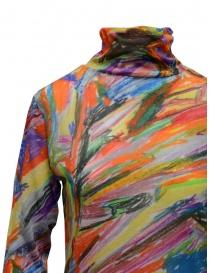 Plantation maglia dolcevita in cotone fantasia multicolore prezzo