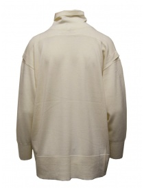 Zucca white turtleneck sweater in thin wool price