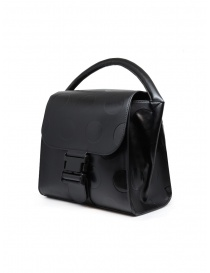 Zucca black recycled leather with polka dots price