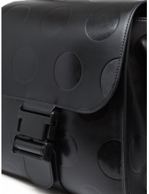 Zucca black recycled leather with polka dots bags buy online