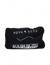 Aqua Alta X Napapijri black high rainboots buy online price