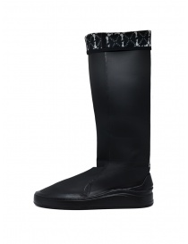 Aqua Alta X Napapijri black high rainboots
