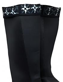 Aqua Alta X Napapijri black high rainboots mens shoes buy online