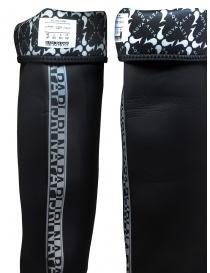 Aqua Alta X Napapijri black high rainboots mens shoes price