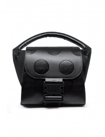 Zucca polka dot mini bag in black eco-leather online