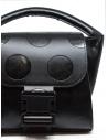 Zucca polka dot mini bag in black eco-leather shop online bags