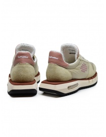 BePositive Cyber Run beige and pink sneakers price