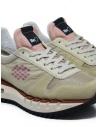 BePositive Cyber Run beige and pink sneakers F0WOCYBER01/NYM/BEI buy online