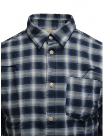 Selected blue checked shirt price