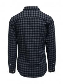 Selected Homme camicia di flanella a quadri blu/grigi