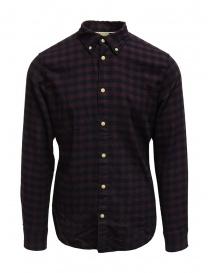 Selected Homme camicia di flanella a quadri blu/rossi online