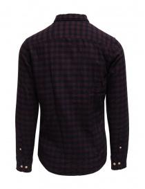 Selected Homme camicia di flanella a quadri blu/rossi