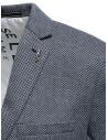 Selected blue and white micro diamond print blazer 16074234 price