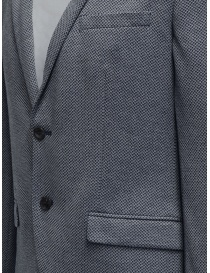 Selected blue and white micro diamond print blazer mens suit jackets buy online