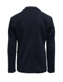 Selected Homme navy blue cotton blend blazer