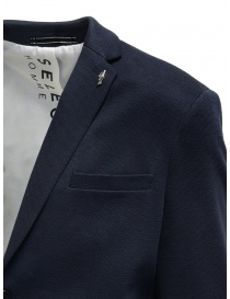 Selected Homme navy blue cotton blend blazer price