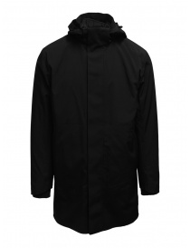 Selected Homme matte black 3 in 1 parka 16074011 BLACK order online