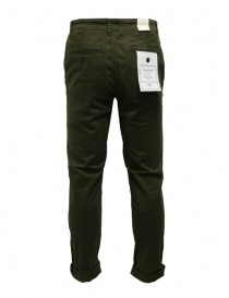 Selected Homme pants in green organic cotton