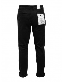 Selected Homme pantaloni in cotone organico nero
