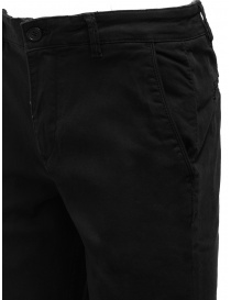 Selected Homme black organic cotton trousers price