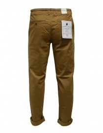 Selected Homme pantaloni in cotone organico senape