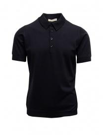 T shirt uomo online: Polo Blu Goes Botanical Maniche Corte