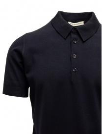 Blue Goes Botanical Polo Shirt Short Sleeves price