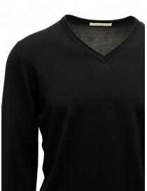 Goes Botanical black sweater V-neckline price