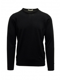 Goes Botanical sweater in black Merino wool online