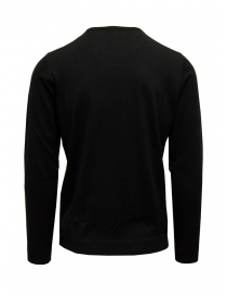 Goes Botanical sweater in black Merino wool