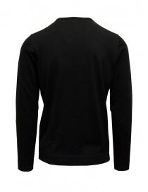 Maglia Goes Botanical paricollo lana Merino nera acquista online