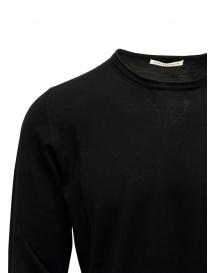 Maglia Goes Botanical paricollo lana Merino nera prezzo