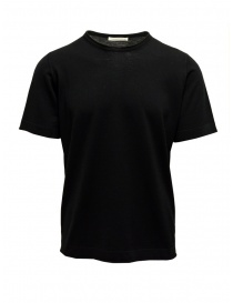 Goes Botanical black T-shirt in merino wool online